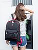 Рюкзак для студента черный, фото 3