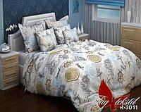 Комплект постельного белья в морском стиле  для мальчиков  Компас