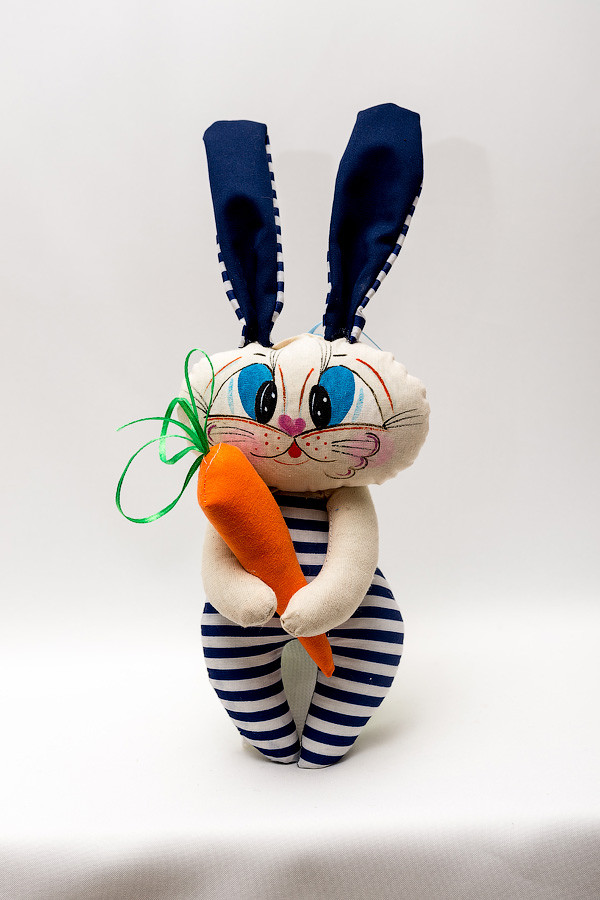 Мягкая игрушка Зайка моряк
