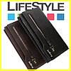 Мужской кожаный клатч портмоне кошелек Baellerry New 2 Цвета