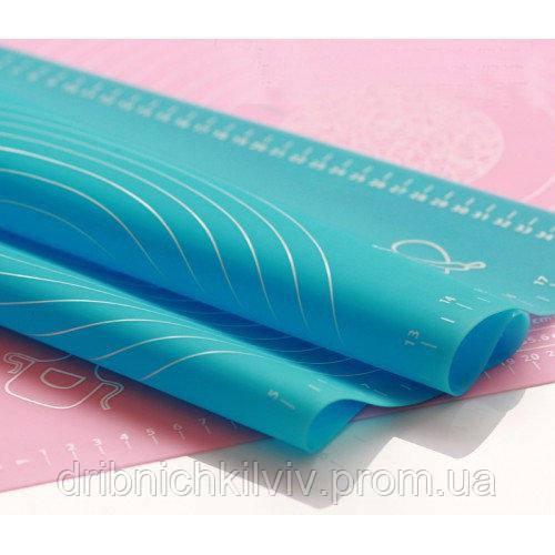 Коврик-подложка для раскатывания теста 40Х50 см