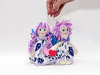 Кукла Валентинки пара мини