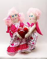 Кукла  Vikamade Валентинки пара большая, фото 1
