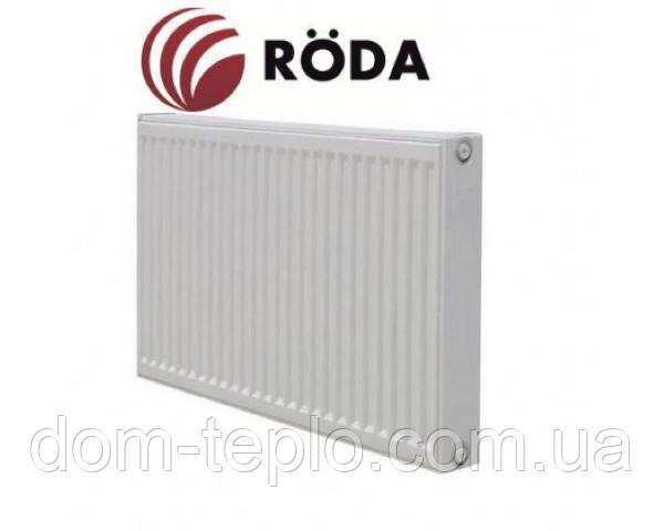 Радиатор стальной Roda Eco 500x1100 ➲22 Тип ➲Боковое подключение