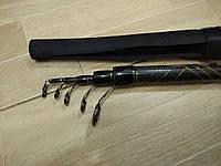 Карбоновая удочка 4м с кольцами Dirginia Sadei 15-40г