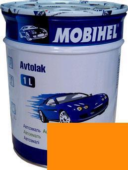 Автокраска 28 Апельсин Helios Mobihel алкидная 1л