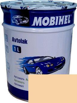 Автокраска 295 Сливочно-белая Helios Mobihel алкидная 1л