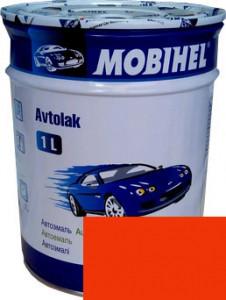 Автокраска 295 Оранжевая Helios Mobihel алкидная 1л