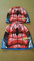 Шапочки трикотажные для мальчиков Spiderman 52,54 p.p.