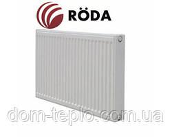 Радиатор стальной Roda Eco 500x2000 ➲22 Тип ➲Боковое подключение