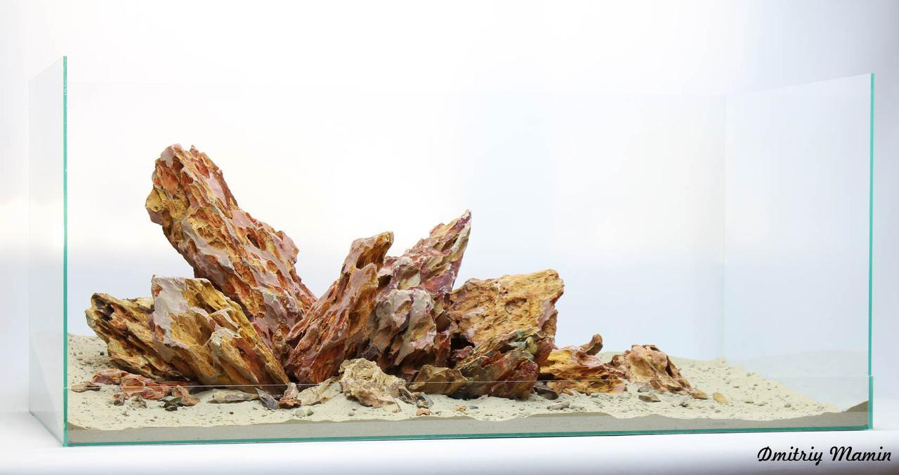 Композиция для аквариума из DragonStone