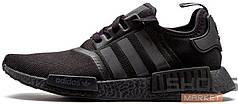 Женские кроссовки Adidas NMD R1 Triple Black S31508, Адидас НМД