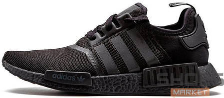 Женские кроссовки Adidas NMD R1 Triple Black S31508, Адидас НМД, фото 2