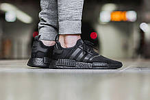 Женские кроссовки Adidas NMD R1 Triple Black S31508, Адидас НМД, фото 3