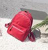 Рюкзак молодежный красный, фото 2