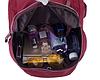 Рюкзак молодежный красный, фото 5