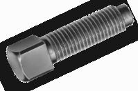 Винт установочный с квадратной головкой М8 DIN 479, фото 3