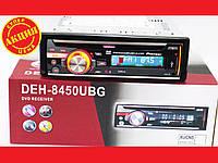 Pioneer DEH-8450UBG DVD  Автомагнитола USB+Sd+MMC съемная панель, фото 1