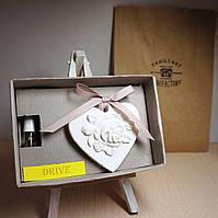 Арома камень 6х7см Медальон с арома DRIVE/ДРАЙВ 15мл (композиция эфирных масел)
