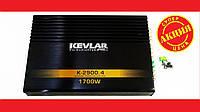 Автомобильный усилитель звука Kevlar K-2900.4 1700Вт 4-х канальный