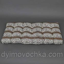 """Матрас ватный """"Леопардовый"""" 120х60 см, ТМ АЛЕКС"""