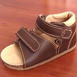 Ортопедическая обувь детская босоножки Ortex Т62., фото 6