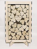 Рамка для пожеланий с сердечками (с гравировкой и покраской), фото 9