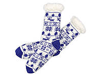 Домашние носки мужские, синий (791822_OS)
