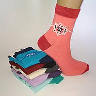 Женские носки ромб