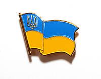 Значок флаг Украины, фото 1