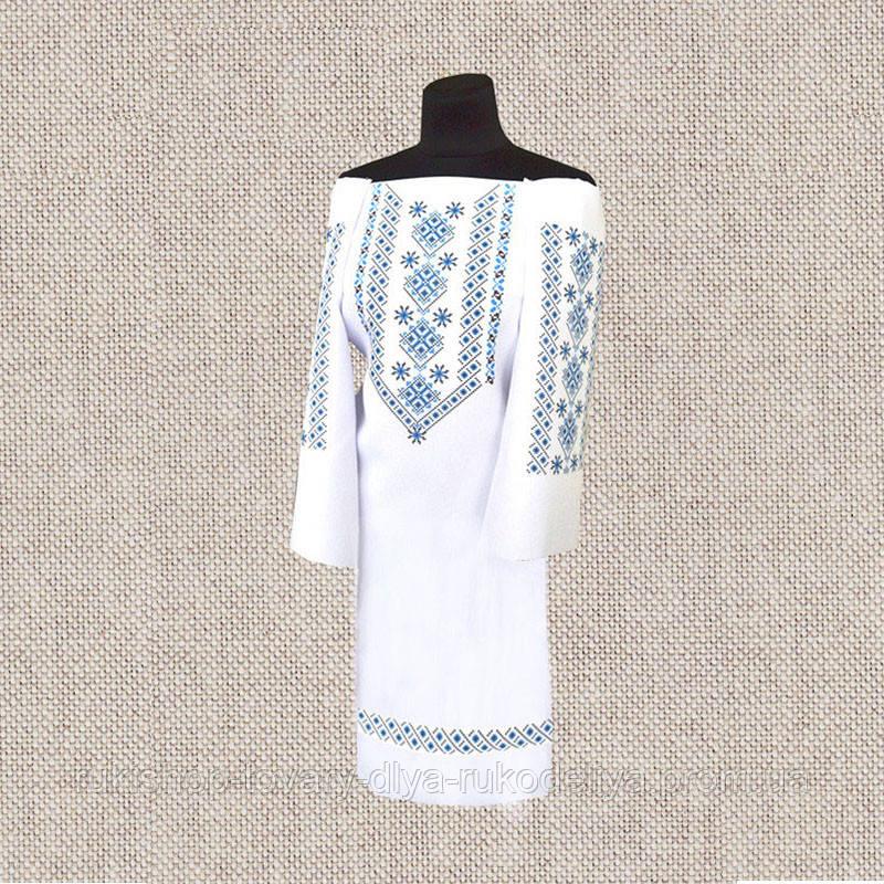 платье женское бисером нитками вм пж 156 бп заготовка под вышивку платья без пояса Bigl Ua