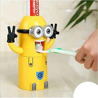Диспенсер миньён toothpaste holder, Дозатор для зубной пасты, Дозатор миньон, Выдавливатель зубной пасты