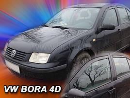 Дефлекторы окон (ветровики)  BORA - 4d 1998r.-2005 (HEKO)