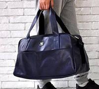 06831f9c5959 Спортивная сумка Adidas 114653 багажная дорожная искусственная кожа копия  50см х 30см х 25см