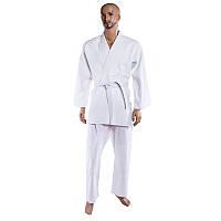 Кимоно дзюдо белое 16oz, 190 см