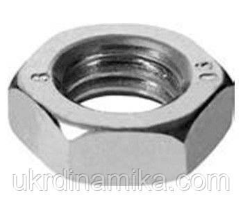 Гайка DIN 934 ISO 10511 класс прочности 8.0, 10.0, фото 2