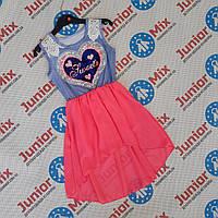 Летний детский сарафан для девочек с паетками меняшками оптом  ИТАЛИЯ