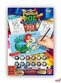Раскраска по номерам Painter kids (PKN-01-xx)