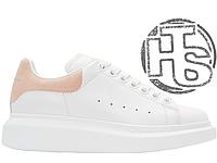 Женские кроссовки Alexander McQueen Oversized Sneaker White Beige
