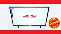 "LCD LED Телевизор JPE 32"" HD экран T2, USB, HDMI, VGA"