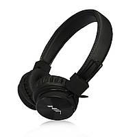 Наушники NIA X2  Bluetooth + Mp3 плеер и Fm Черные