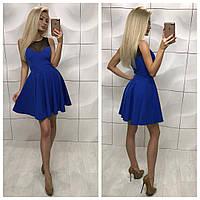 Женское модное платье с верхом сетка, фото 1