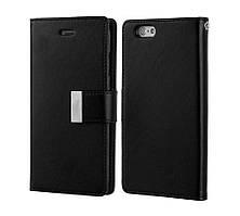 Книжка Goospery Rich Diary Wallet Case Samsung J330 Black