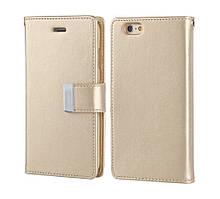 Книжка Goospery Rich Diary Wallet Case Samsung J330 Gold