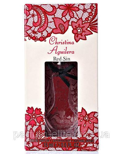 Женская парфюмированная вода Christina Aguilera Red Sin 15ml