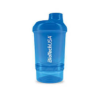Biotech USA, Спортивный шейкер Wave+ Nano Shaker 300ml (+150ml) Schocking Blue