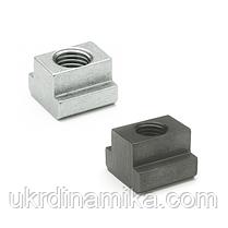 Гайка для Т-образных пазов М10 DIN 508, класс прочности 10, фото 2