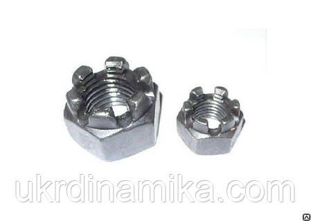 Гайки М6 высокопрочные с мелким шагом резьбы DIN 934, ГОСТ 5915-70, класс прочности 8.0, 10.0, фото 2