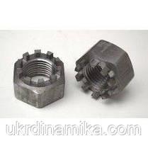 Гайка корончатая М16 нержавеющая DIN935, сталь А2, А4, фото 3
