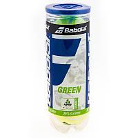 Мяч теннисный для детей Babolat Green x 3